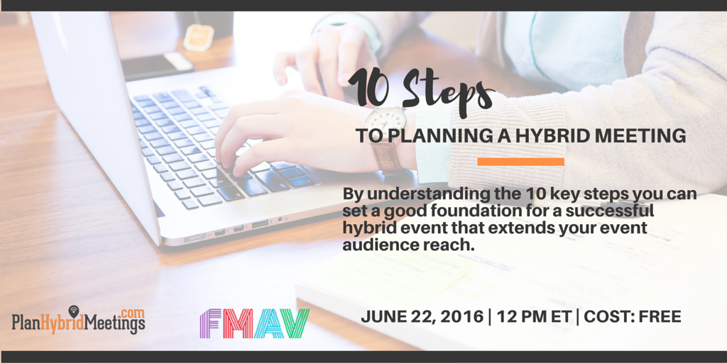 10 steps to planning a hybrid meeting.