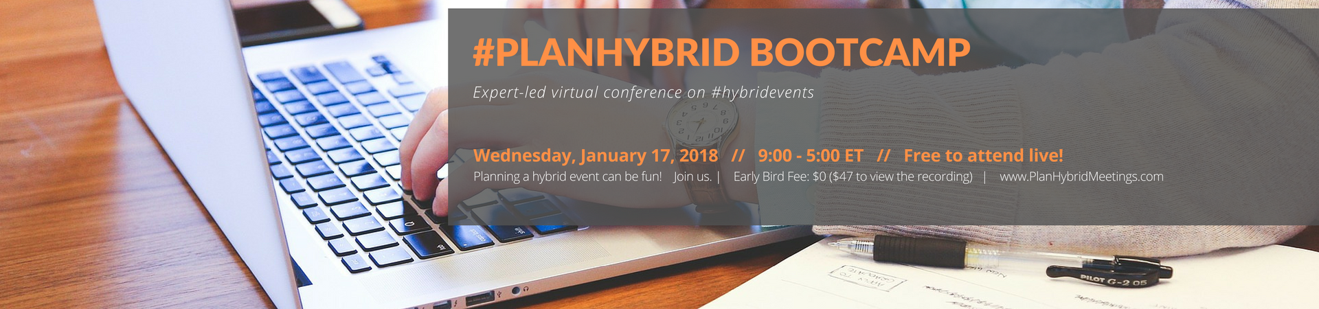 PlanHybrid Bootcamp 2018